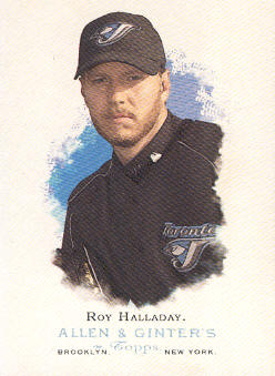 2006 Topps Allen and Ginter #140 Roy Halladay