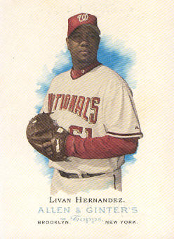 2006 Topps Allen and Ginter #141 Livan Hernandez