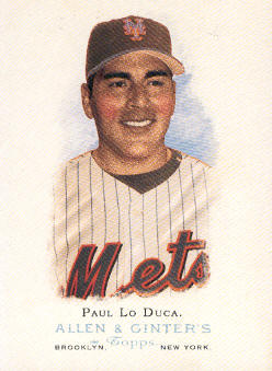 2006 Topps Allen and Ginter #148 Paul Lo Duca