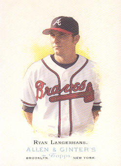 2006 Topps Allen and Ginter #151 Ryan Langerhans SP