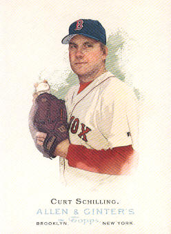 2006 Topps Allen and Ginter #153 Curt Schilling SP