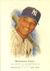 2006 Topps Allen and Ginter #155 Robinson Cano SP