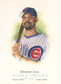 2006 Topps Allen and Ginter #156 Derrek Lee SP