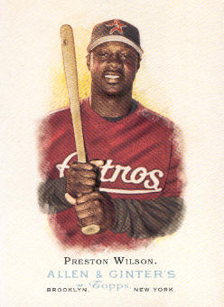 2006 Topps Allen and Ginter #164 Preston Wilson