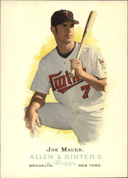 2006 Topps Allen and Ginter #167 Joe Mauer