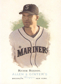 2006 Topps Allen and Ginter #174 Richie Sexson
