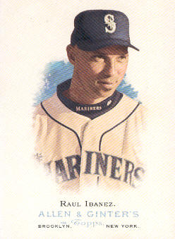 2006 Topps Allen and Ginter #182 Raul Ibanez