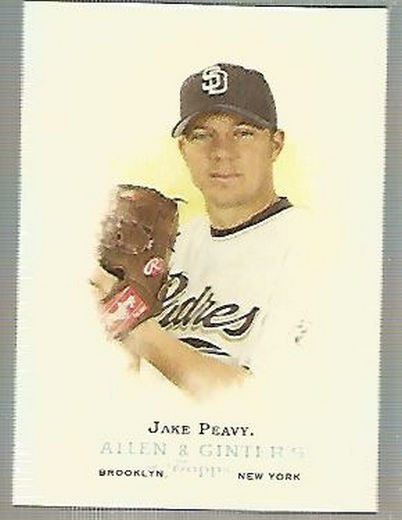 2006 Topps Allen and Ginter #183 Jake Peavy