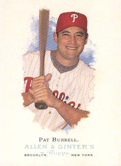 2006 Topps Allen and Ginter #184 Pat Burrell