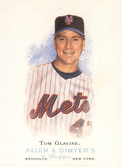 2006 Topps Allen and Ginter #185 Tom Glavine SP