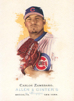 2006 Topps Allen and Ginter #194 Carlos Zambrano