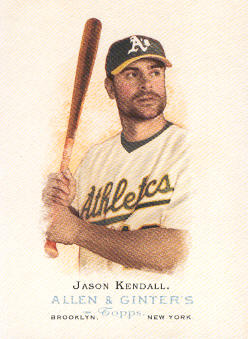 2006 Topps Allen and Ginter #202 Jason Kendall