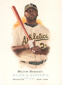 2006 Topps Allen and Ginter #203 Milton Bradley