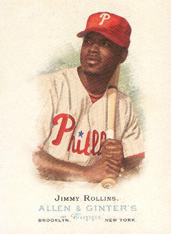 2006 Topps Allen and Ginter #204 Jimmy Rollins