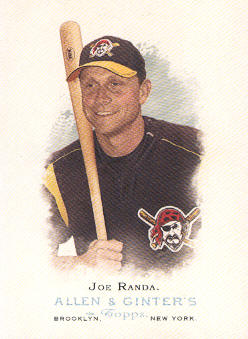 2006 Topps Allen and Ginter #206 Joe Randa