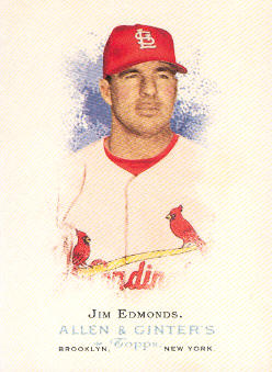 2006 Topps Allen and Ginter #212 Jim Edmonds