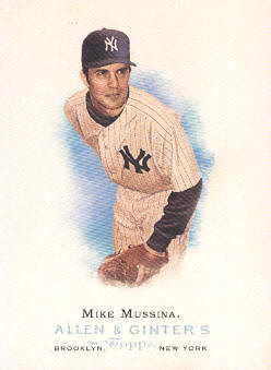 2006 Topps Allen and Ginter #225 Mike Mussina