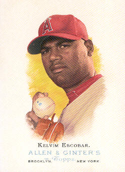 2006 Topps Allen and Ginter #226 Kelvim Escobar