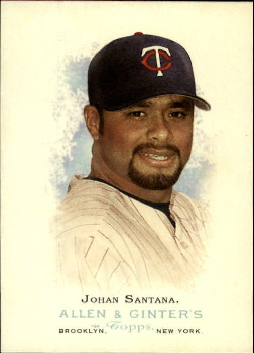 2006 Topps Allen and Ginter #247 Johan Santana