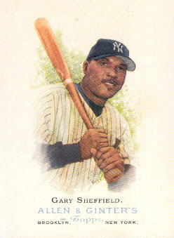 2006 Topps Allen and Ginter #250 Gary Sheffield