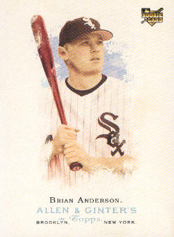 2006 Topps Allen and Ginter #254 Brian Anderson (RC)
