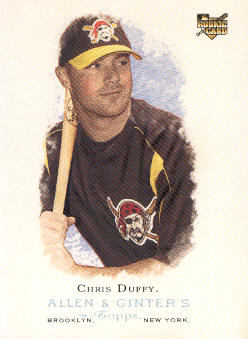 2006 Topps Allen and Ginter #258 Chris Duffy (RC)