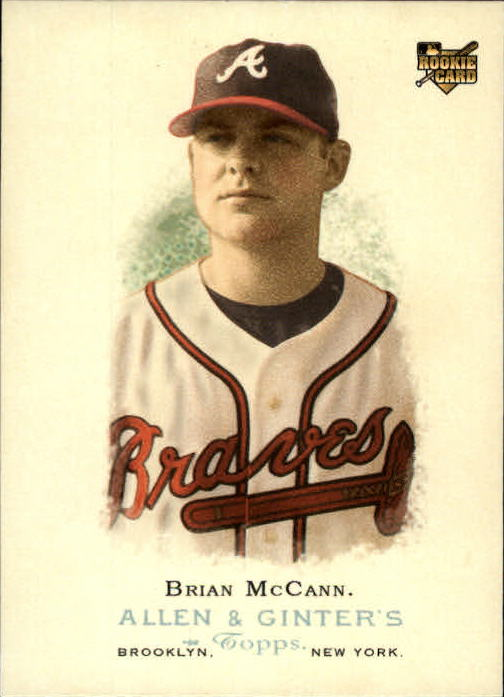 2006 Topps Allen and Ginter #259 Brian McCann (RC)