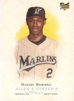 2006 Topps Allen and Ginter #260 Hanley Ramirez (RC)