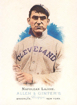 2006 Topps Allen and Ginter #270 Napolean Lajoie