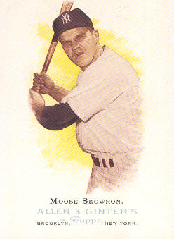 2006 Topps Allen and Ginter #274 Moose Skowron