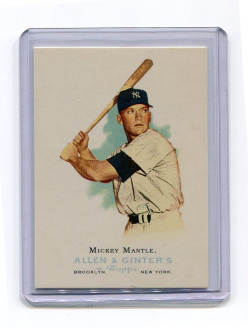 2006 Topps Allen and Ginter #275 Mickey Mantle