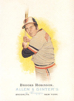 2006 Topps Allen and Ginter #276 Brooks Robinson