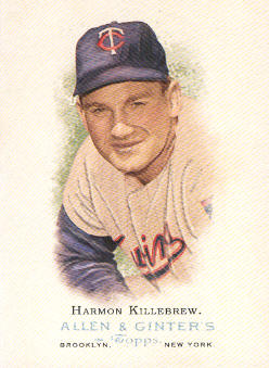 2006 Topps Allen and Ginter #281 Harmon Killebrew