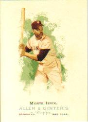2006 Topps Allen and Ginter #282 Monte Irvin