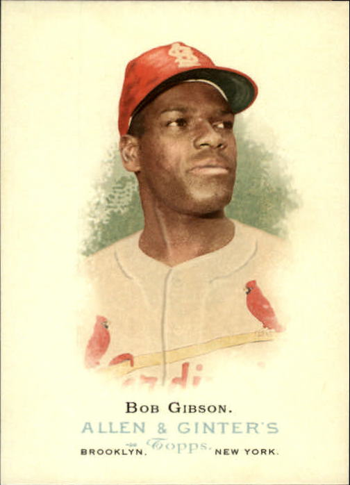 2006 Topps Allen and Ginter #283 Bob Gibson