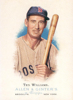 2006 Topps Allen and Ginter #284 Ted Williams