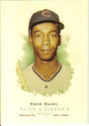 2006 Topps Allen and Ginter #286 Ernie Banks