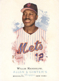 2006 Topps Allen and Ginter #296 Willie Randolph MG