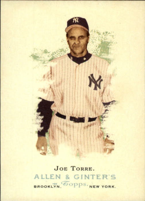 2006 Topps Allen and Ginter #297 Joe Torre MG