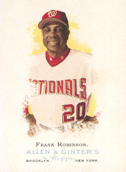 2006 Topps Allen and Ginter #300 Frank Robinson MG