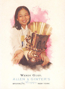 2006 Topps Allen and Ginter #306 Wendy Guey