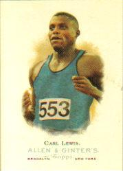 2006 Topps Allen and Ginter #308 Carl Lewis