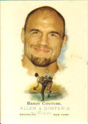 2006 Topps Allen and Ginter #310 Randy Couture