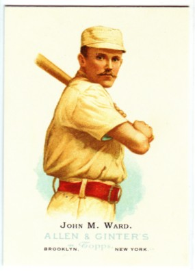 2006 Topps Allen and Ginter #317 John M. Ward REP