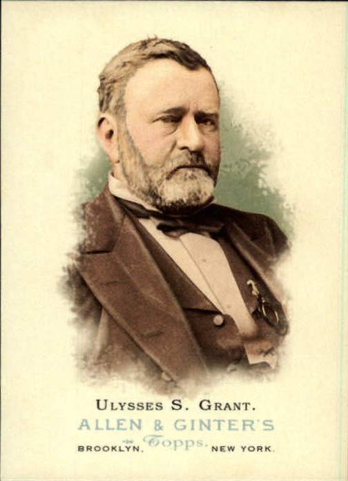 2006 Topps Allen and Ginter #327 Ulysses S. Grant