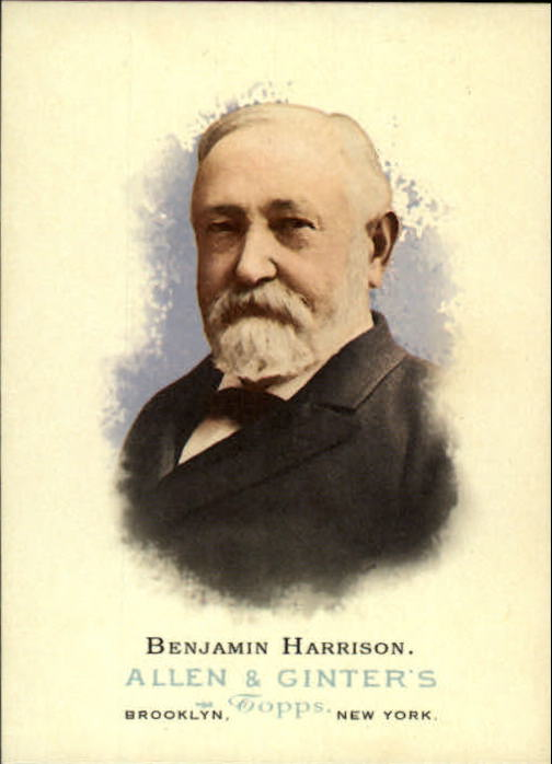 2006 Topps Allen and Ginter #330 Benjamin Harrison