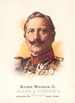 2006 Topps Allen and Ginter #334 Kaiser Wilhelm II