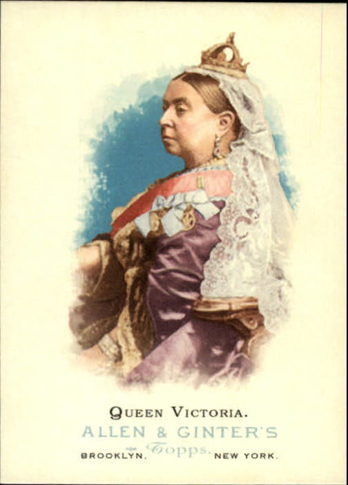 2006 Topps Allen and Ginter #335 Queen Victoria SP