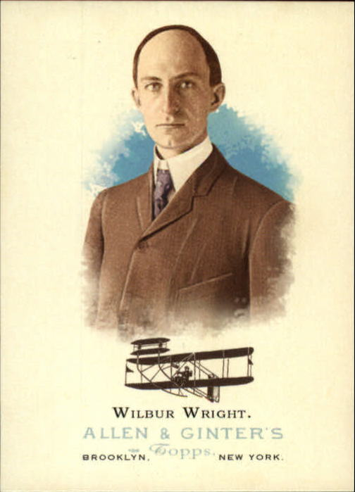 2006 Topps Allen and Ginter #339 Wilbur Wright