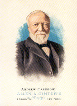 2006 Topps Allen and Ginter #344 Andrew Carnegie